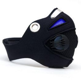 maska antysmogowa HALLNY crystal blue