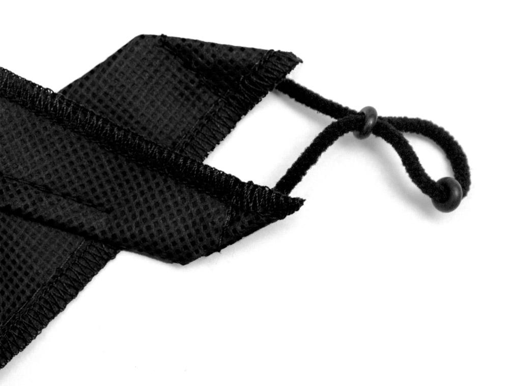 regulacja maseczki wielorazowej zonda black