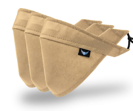 maseczki ochronne beżowe